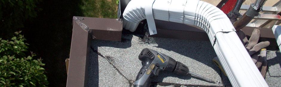 Eaves Trough Repair Edmonton